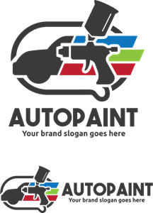 auto paint Logo Vector