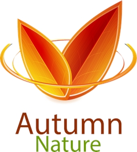 Autumn Nature Logo Vector