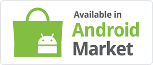 Available in Android Market Logo Vector