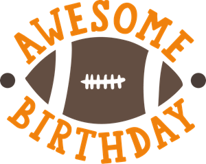 AWESOME BIRTHDAY Logo Vector
