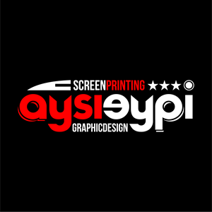 aysieypi screen printing Logo Vector