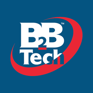 B2B Tech Logo Vector