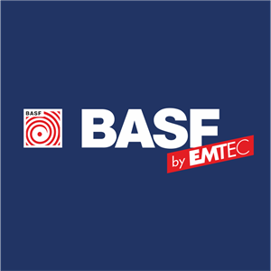 BASF by EMTEC Logo Vector