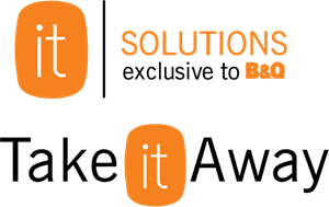 B&Q it Solutions furniture range Logo Vector