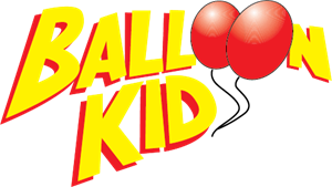 Balloon Kid Logo Vector