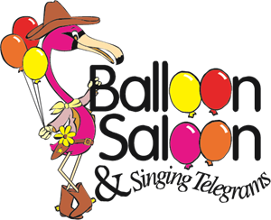 Balloon Saloon & Singing Telegrams Logo Vector