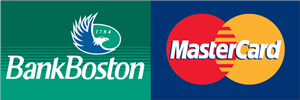 Bank Boston MasterCard Logo Vector