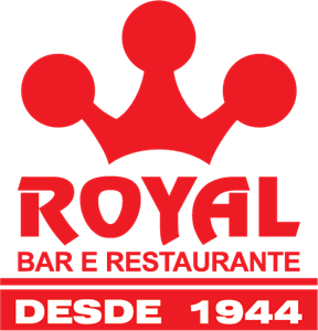 Bar e Restaurante Royal Logo Vector