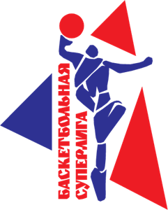 Basketball Superleague Logo Vector