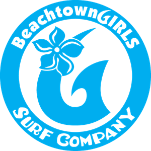 BeachtownGirls Surf Company Circle G Logo Vector