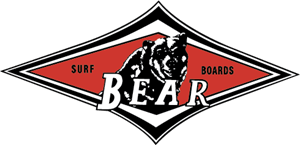 Bear Surf Boards Logo Vector