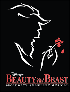 Beauty and the Beast Logo Vector