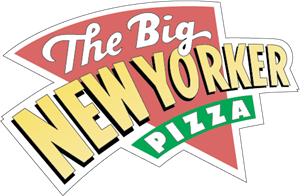 Big New Yorker Pizza Logo Vector
