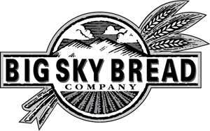 Big Sky Bread Logo Vector