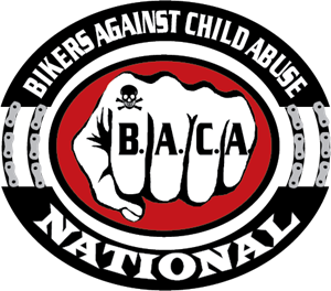 Bikers Against Child Abuse Logo Vector
