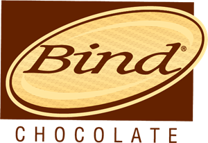 Bind Chocolate Logo Vector