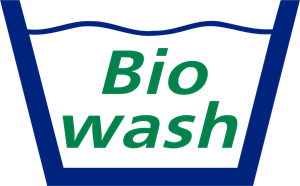 Bio Wash Logo Vector