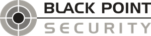 Black Point Security Logo Vector