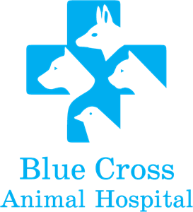 Blue Cross Animal Hospital Logo Vector