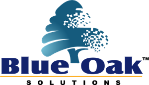 Blue Oak Solutions Logo Vector