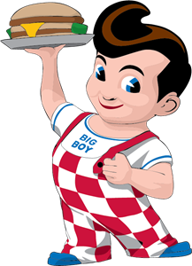 Bob's Big Boy Logo Vector