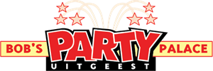 Bob's Party Palace Logo Vector