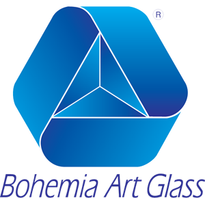 Bohemia Art Glass Logo Vector