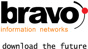 Bravo Information Networks Logo Vector