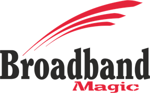 Broadband Magic Logo Vector