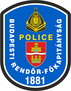Budapest Police Department Logo Vector