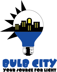 Bulb City Logo Vector