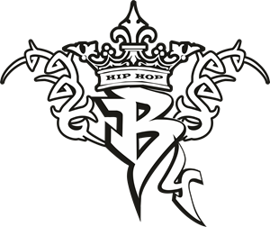 B4 Hip hop Logo Vector