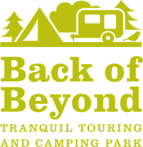 Back of Beyond Touring Camping and Glamping Park Logo Vector