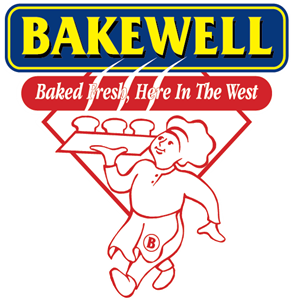 bakewell - baked fresh here in the west Logo Vector