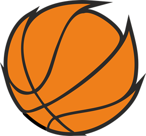 ball basket Logo Vector