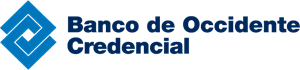 Banco de Occidente Credencial Logo Vector