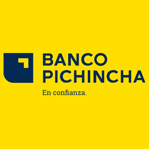 Banco Pichincha Nuevo Alternativo Logo Vector