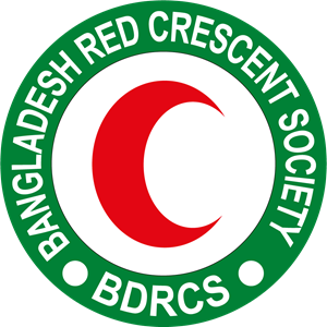 Bangladesh Red Crescent Society Logo Vector