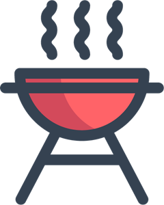 Barbeque Logo Vector
