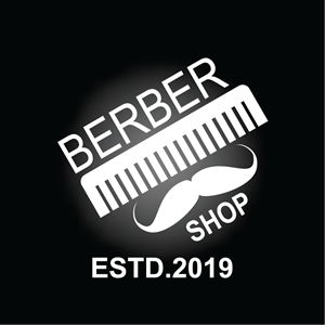 Barber Shop Design Logo Vector