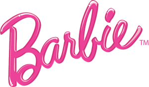 barbie logo vector eps free download