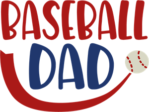 BASEBALL DAD Logo Vector