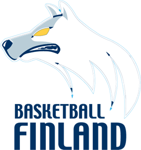 Basketball Finland Logo Vector