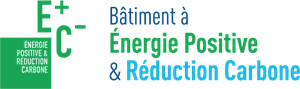 Bâtiment Energie Positive Reduction Carbone Logo Vector