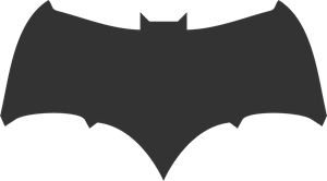 Batman Batfleck Logo Vector