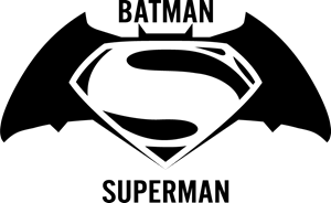Batman vs Superman Logo Vector
