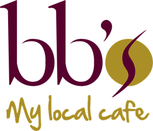 bb's, My local cafe Logo Vector