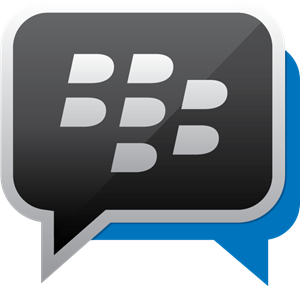 BBM Blackberry Messenger Logo Vector
