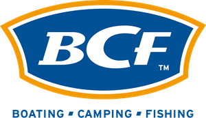 BCF BOATING CAMPING FISHING Logo Vector
