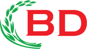 BD Rice Logo Vector